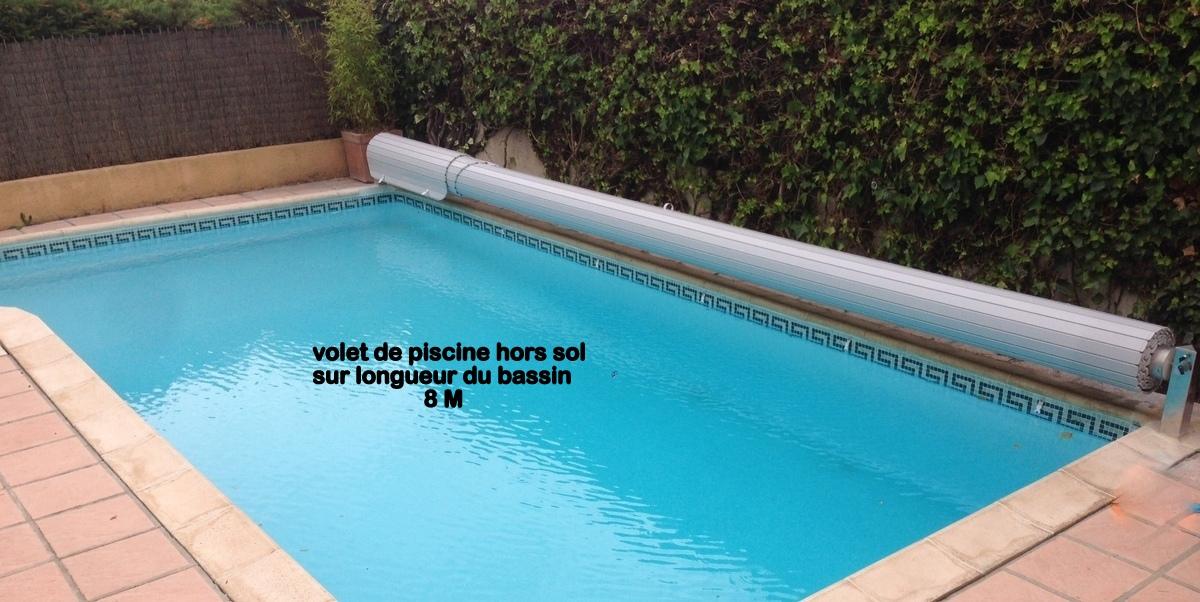 Volet hors sol de piscine couverture de piscine hors sol for Volet de piscine