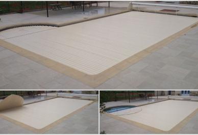 Couverture de piscine rigide rideau de piscine lectrique for Couverture de piscine rigide occasion