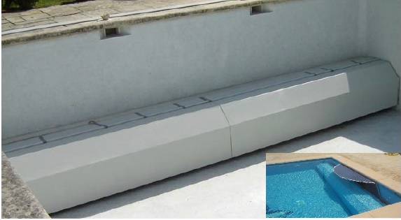 Prix volet de piscine immerg ou couverture en fond de bassin for Piscine fond mobile sans cable