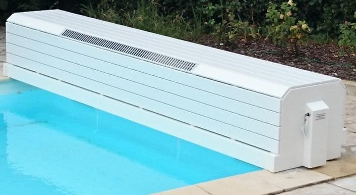 Couverture solaire de piscine volet de piscine hors sol for Panneau solaire piscine hors sol